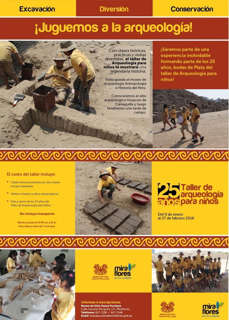 TRIPTICO TALLER ARQUEOLOGIA 2014-01
